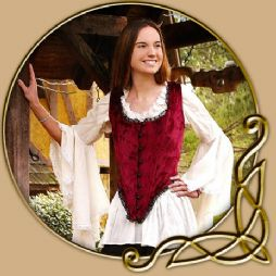 Costume - Airy Shirt with Bell Sleeves